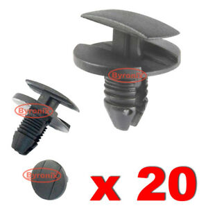 PEUGEOT FIR TREE RETAINER ARCH LINER BUMPER RUBBING CLIPS