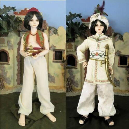 """ALADDIN 14"" SEWING PATTERN FOR 16 17"" 14 MALE BOY BJD DOLLFIE"