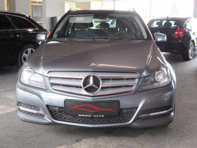 Mercedes C220 2,2 CDi stc. aut. BE 5d - 223.200 kr.