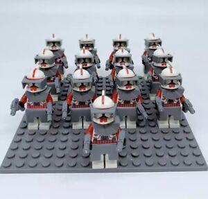 13x-Red-Clone-Trooper-Mini-Figures-LEGO-STAR-WARS-Compatible