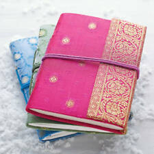 Fair Trade Handmade Mini Sari Fabric Notebook Diary Single Bound