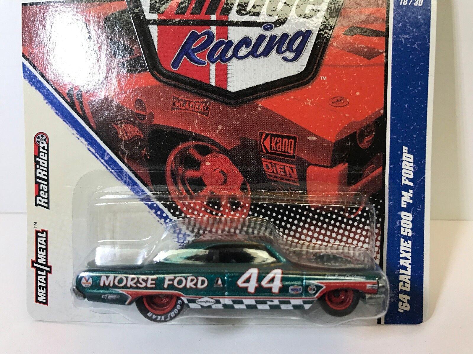 heiß Wheels Jahr Racing Morse Ford 1964 Galaxy (Rare Beautiful voiture)   Protecto