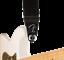 Genuine-Fender-Infinity-F-Logo-Strat-Tele-Guitar-Strap-Locks-Straplocks-BLACK miniature 6