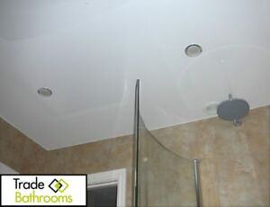 Image Is Loading Gloss White Bathroom PVC Panels Ceiling Cladding Kitchen