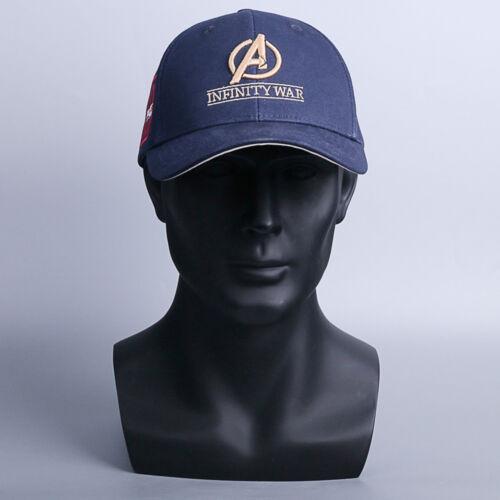 Marvel Avengers Infinity War 10th Anniversary Cap Embroidery Baseball Hat