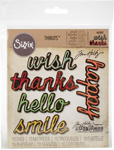 Sizzix-Tim-Holtz-Alterations-Collection-Thinlits-Die-Shadow-Script-2-NEW