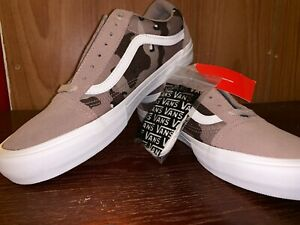 Details zu Vans Old Skool PRO (Desert Camo) StuccoMarshmallow US 11 Men VN0A453SSO9