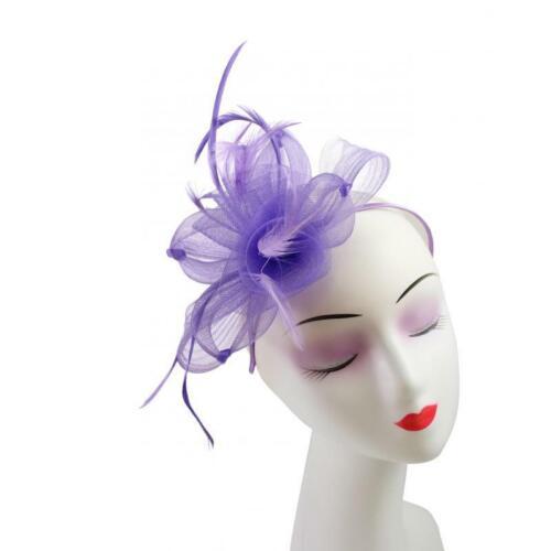 Les Femmes Plumes Chapeau Bandeau Clip Mariage Course Royal Ascot Fête