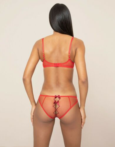 various sizes Agent Provocateur red burgundy BNWT Lorna Bra