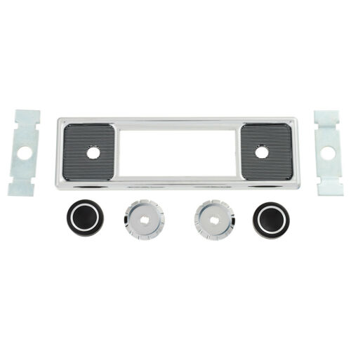 "7.5 x 2.25/"" Becker pinstripe RetroSound Face plate /& Knob kit W 190 x H 56mm"