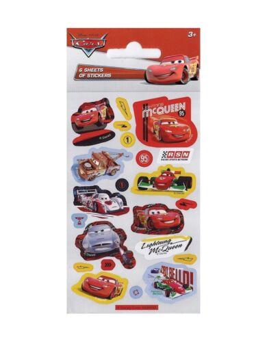 Princess Frozen Cars Thomas Ben 10 Moshi Party Bag Stickers x 6 SHEETS per pack