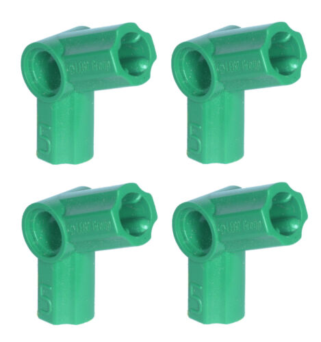 Missing Lego Brick 32015 Green x 4 Technic Angle Connector No.5