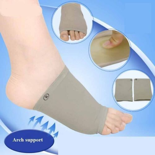 Arch Support Pad Heel Orthopedic Insoles Foot Care Orthotic Foot Correction