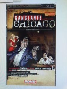 Sanglante Chicago, V1: Les années Capone [UMD] PSP - NEUF SOUS BLISTER