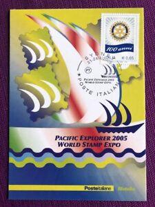 2005-Cartolina-Filatelica-034-SYDNEY-034-Annullo-SYDNEY