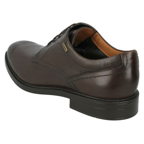CHILVERWALK GTX MENS CLARKS CASUAL FORMAL WATERPROOF LACE UP LEATHER SHOES SIZE