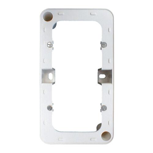 AP Aufputz Rahmen Aufputzgehäuse für Wipp Schalter Taster Regina 3241D 3281D KPL