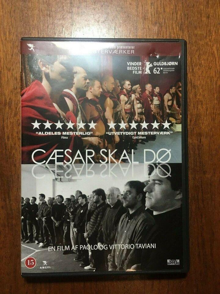 Cæsar Skal Dø, instruktør Paolo Taivani, Vittorio Taivani