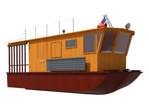 Houseboat-Plans-21-039-DIY-Pontoon-House-Boat-Building-Plan-Build-Your-Own