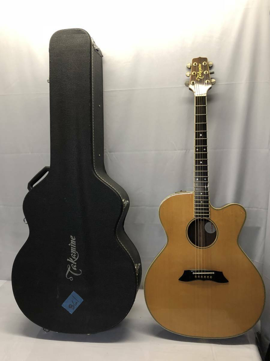With case TAKAMINE PT-010N beutiful JAPAN rare useful EMS F/S
