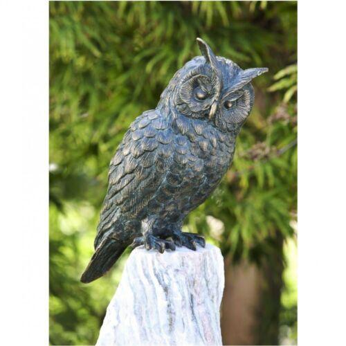 Personaje animal waldohreule de bronce mochuelo Uhu pájaro pájaros animales ro-88634 motivo búhos lechuza