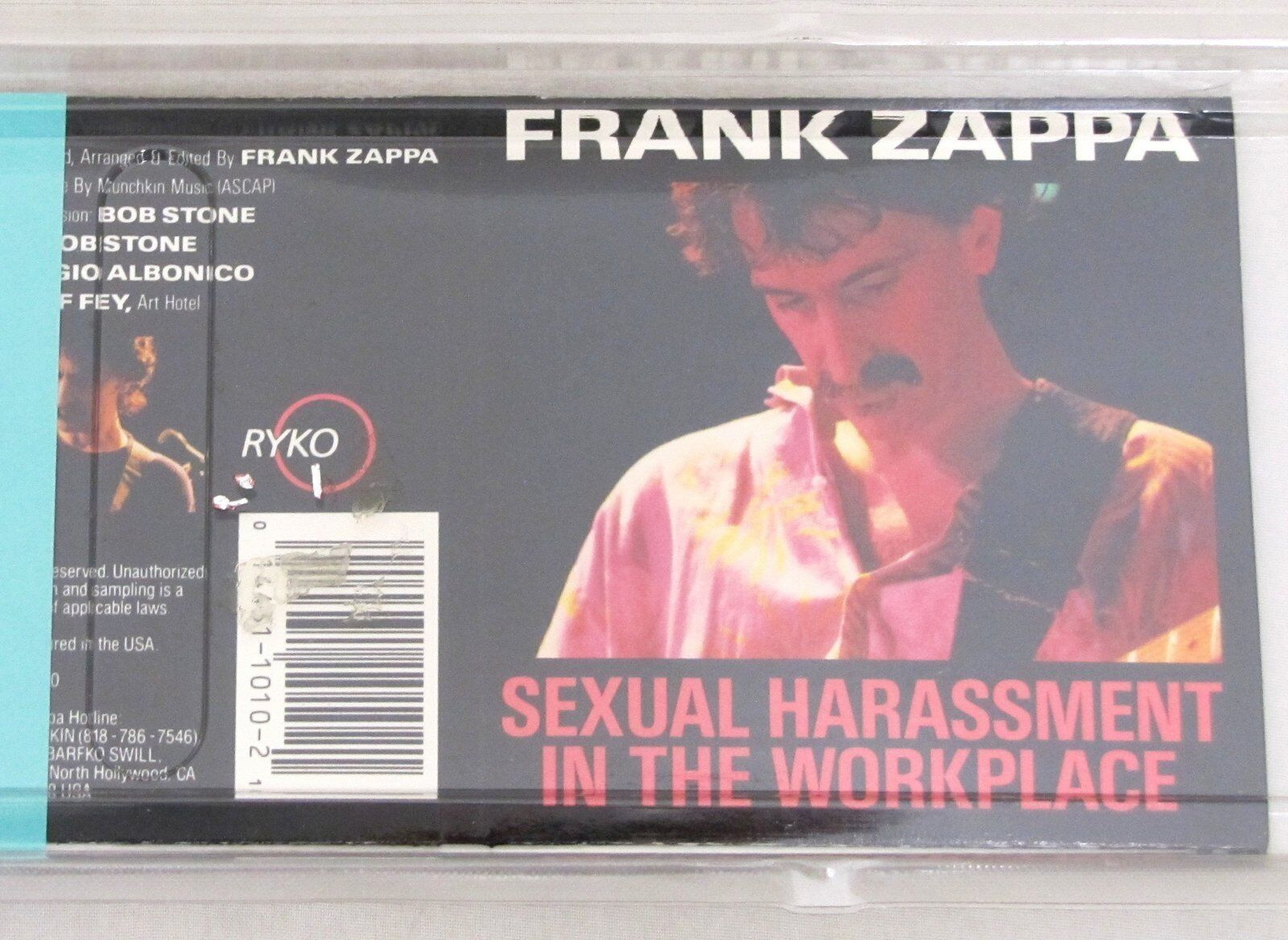 Sexual harassment in the workplace zappa search