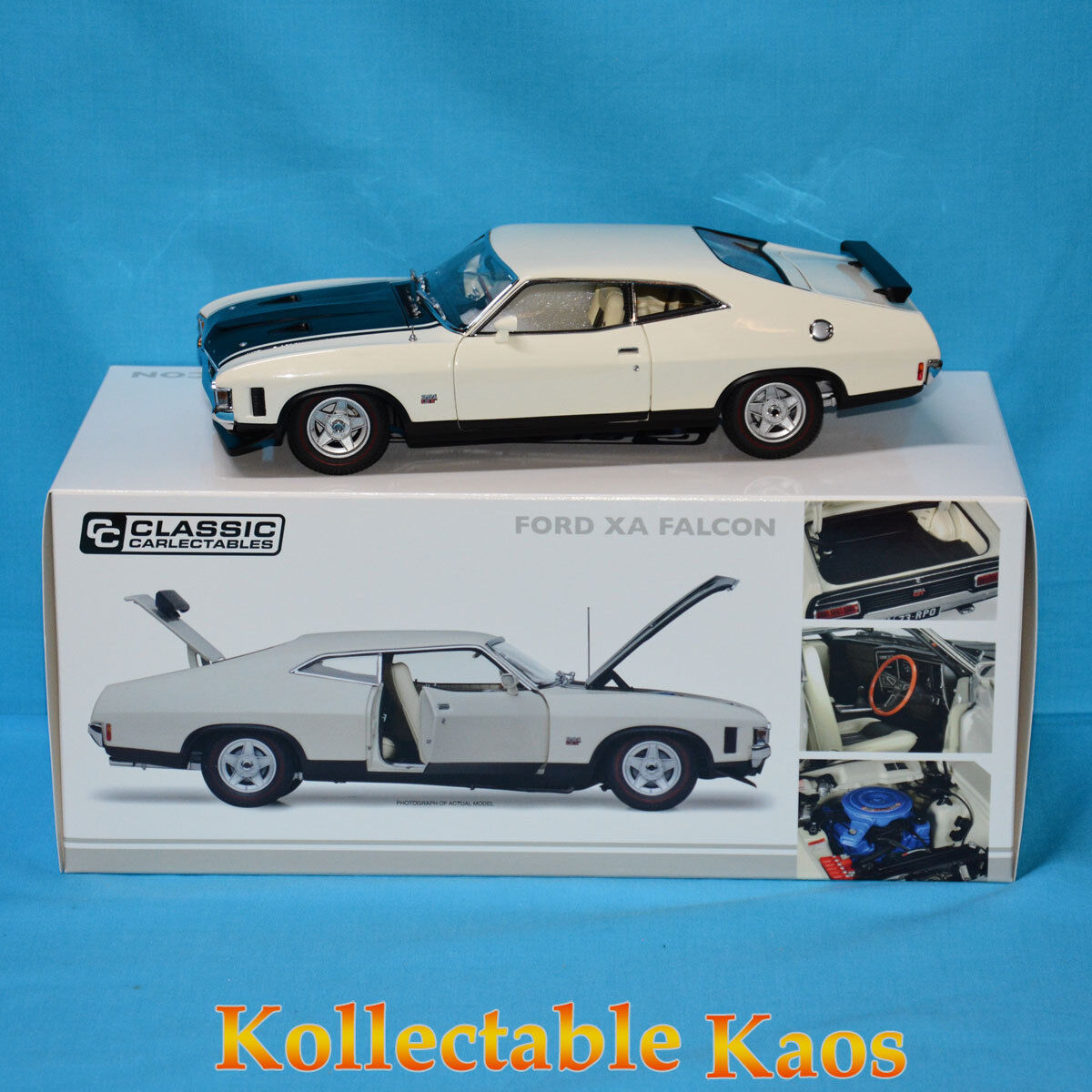 promociones 1 18 18 18 Classics-Ford xa Falcon RPO83 Coupe-blancoo Polar  Venta en línea de descuento de fábrica