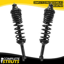 97-99 Acura CL Rear Quick Complete Struts / Shocks & Coil Spring + Mounts x2