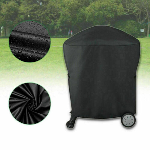 Grillabdeckung Abdeckhaube Wasserdicht Cover für Weber Q1000 Q2000 Serie 77*58cm