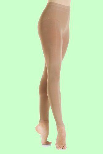 Mondor Child #3312 SUNTAN Microfibre Footless Skating Tights