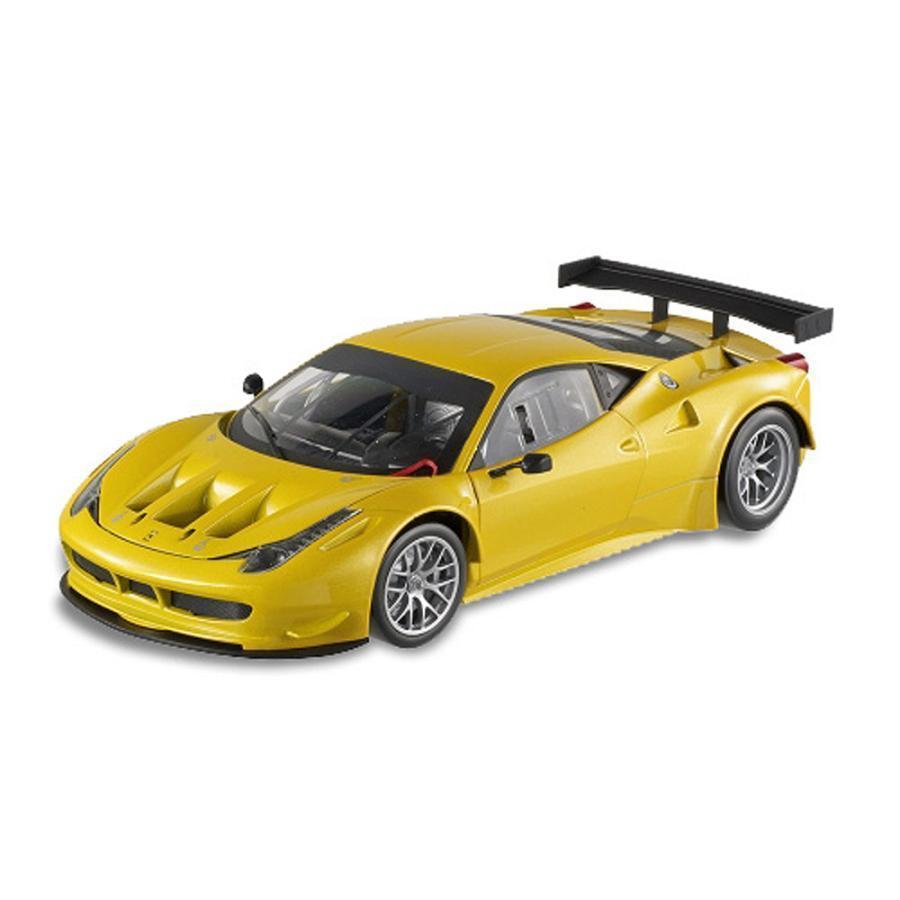 ¡no ser extrañado! 1 18 Hot Wheels Ferrari 458 458 458 Italia GT2 Diecast Modelo Coche Amarillo BCJ78  comprar ahora
