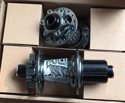 KOOZER Hub Thru axle Front 100*15 Rear 142*12 MTB Bike Hubs 32H Disc brake Grey