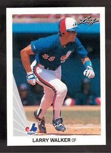 1990-Hoja-325-Larry-Walker-Rookie