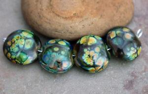 Baka-Handmade-Glass-Lampwork-Lentil-Coin-Beads-elasia-SRA-MTO