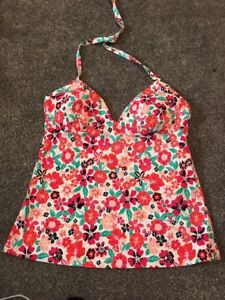 Marks /& Spencer/'s Navy Mix Crop Top /& Red Roll Top Hipsters Size 18 BNWT