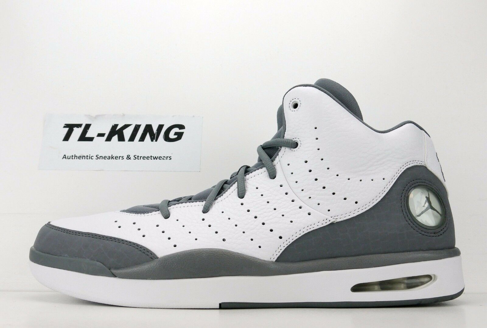 best loved d864a 42907 Nike Air Jordan Flight Tradition White Cool Cool Cool Grey 819472 100 Msrp   130 FW c19af0