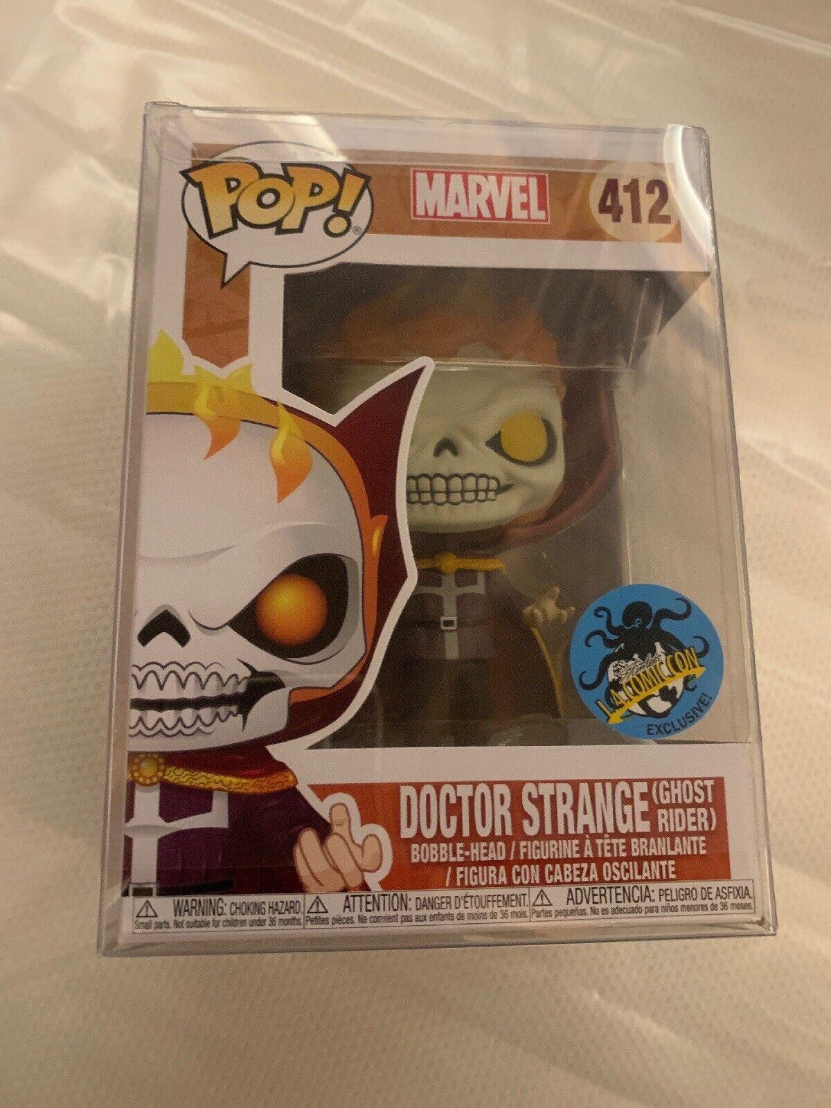 Funko Pop Marvel 412 Doctor Strange Ghost Rider LA Comic Con Lacc Exclusive Mint