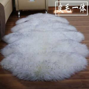 100 Genuine Sheepskin Rug Lambskin Long Wool Carpet Sofa