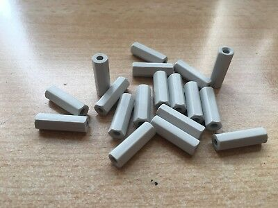 6.5mm NYLON PLASTIC SPACERS STANDOFF WHITE ROUND WASHERS      Z2809