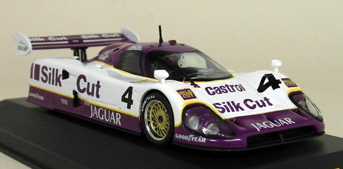 IXO échelle 1 43 - LMC017 Jaguar XJR12  4 le Mans 1990 Diecast Voiture Modèle