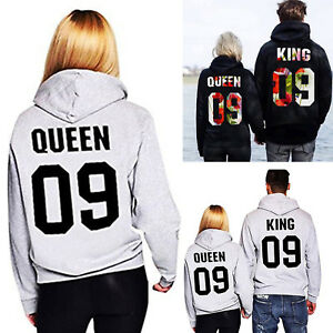King-and-Queen-Couple-Print-Hoodie-Sweatshirts-Pullover-Jumper-Matching-Tops-US