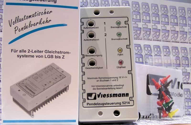Viessmann 5214 Pendelzugsteuerung für Gleischstom-Bahn DC    | Zu verkaufen  b0ad30