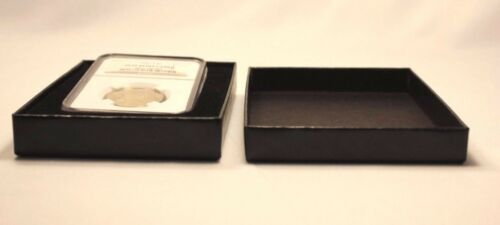 Insert Display 3 AIR-TITE Direct Fit PCGS Coin Slab Holder Storage Gift Box