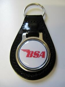 BSA-Key-Ring-Resin-Domed-Key-Fob-Ideal-Gift-Bs1