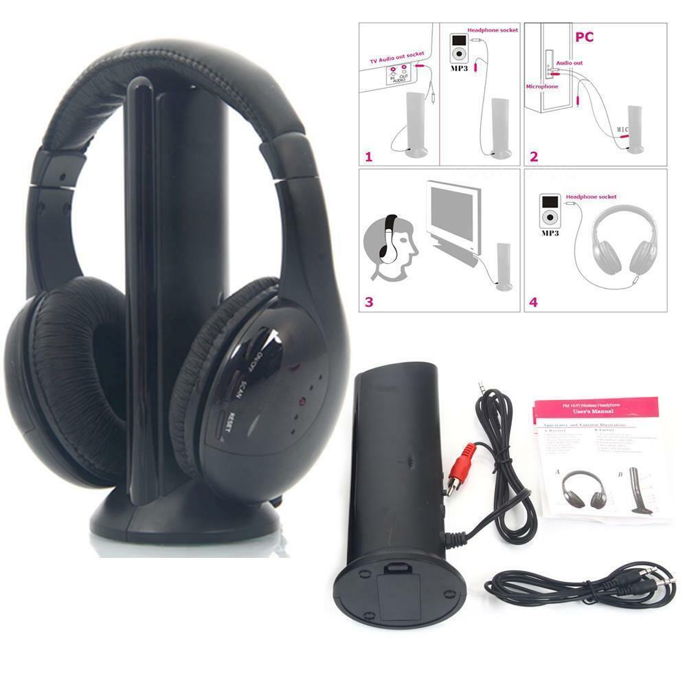 Gadget Tech 3 In 1 Hi Fi Fm Wireless Headphones For Sale Online Ebay