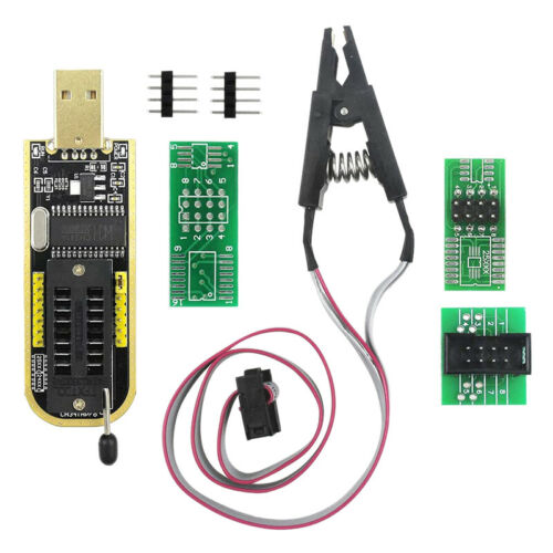 SOP8 SOIC8 Clip de Prueba para EEPROM 25CXX 24CXX con CH341A 24 25 Series Q6G3