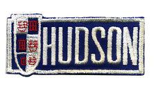 Vtg Hudson Patch badge Sales Service Uniform Hot Rod Race Classic Car