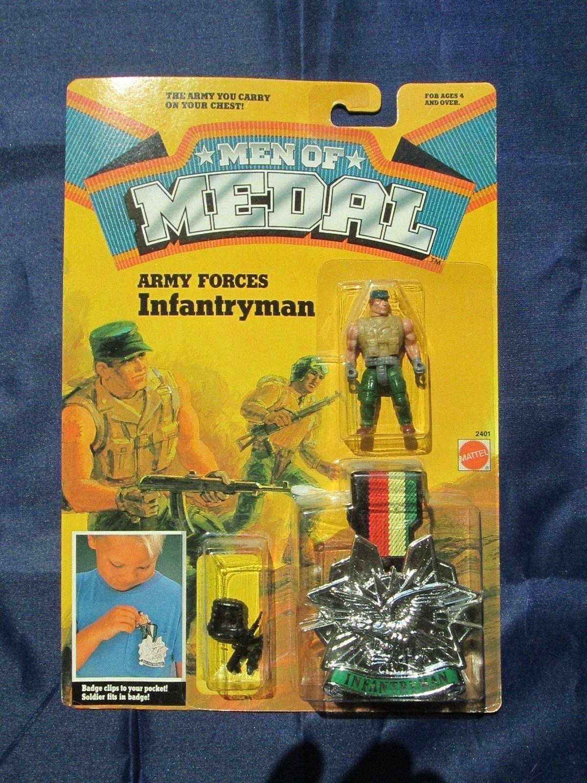 Vintage Men of Medal ARMY FORCES INFANTRYMAN Action Figure - Sealed