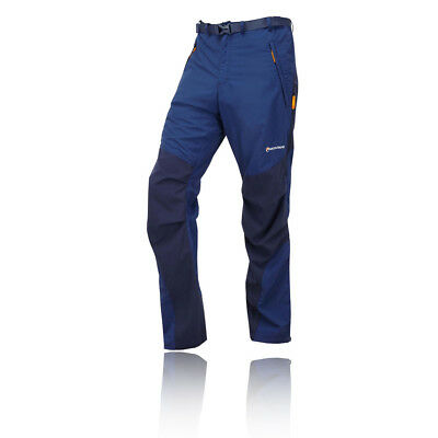 Montane Terra Hombre Azul Resiste Al Agua Exterior Excursi?n Pantalones Largos