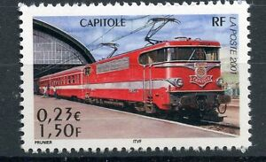 STAMP-TIMBRE-FRANCE-NEUF-N-3412-CHEMIN-DE-FER-TRAIN-CAPITOLE